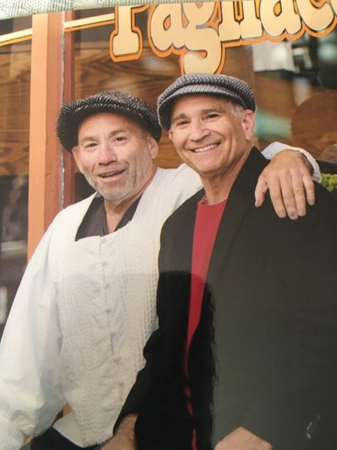 Howie Siegel (left) and his brother David (right).